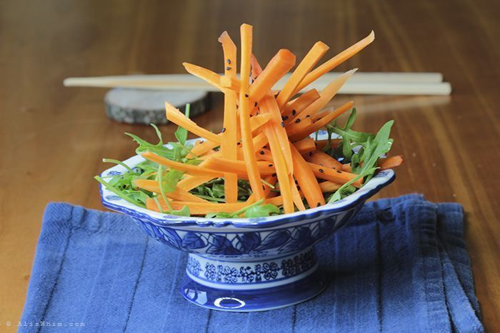 Mikado carrot salad